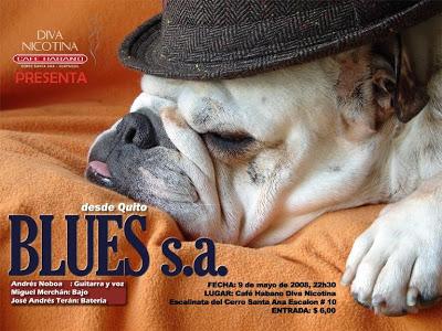 Blues en Diva Nicotina y Ojos de Perro Azul