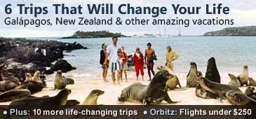 6 Viajes que Cambiaran su Vida.