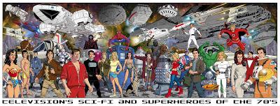 Heroes y personajes de los 70s y 80S
