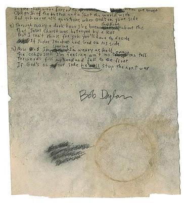 $25.000 por el manuscrito original.