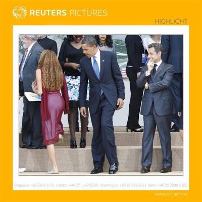 El presi Obama se fue de ancheteo…