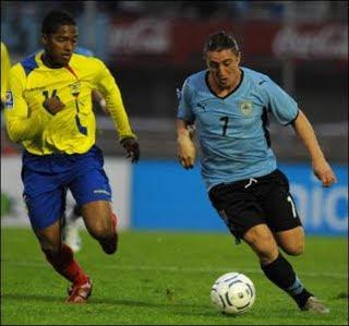 Alineacion Ecuador-Uruguay