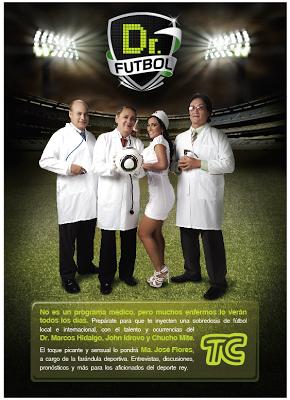 Primera foto de Dr Futbol.