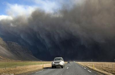La ceniza en Islandia