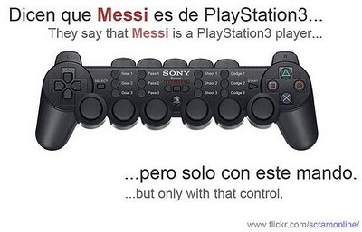Messi…Como lo manejarias en el Play?