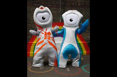 Londres presenta sus mascotas para JJOO-2012