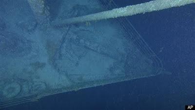 Nuevas fotos del Titanic, producto de nueva idea.