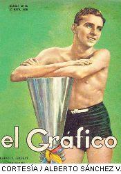 El primer ecuatoriano en la tapa de El Grafico.