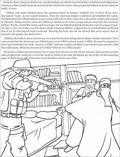 Una editorial  publica un libro para colorear el asesinato de Bin Laden