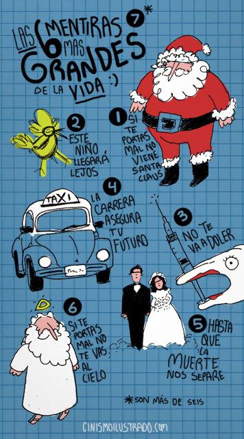Algunas de las 6 mentiras mas grandes de la vida