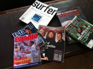 Que hago con las revistas?