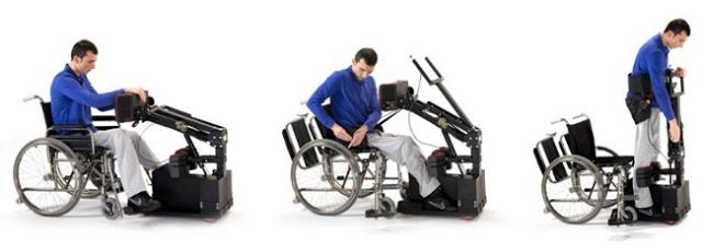 Nueva era para los usuarios de las sillas de ruedas.