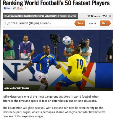 Los futbolistas ecuatorianos entre los que mas corren.