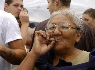 La abuela grifa.