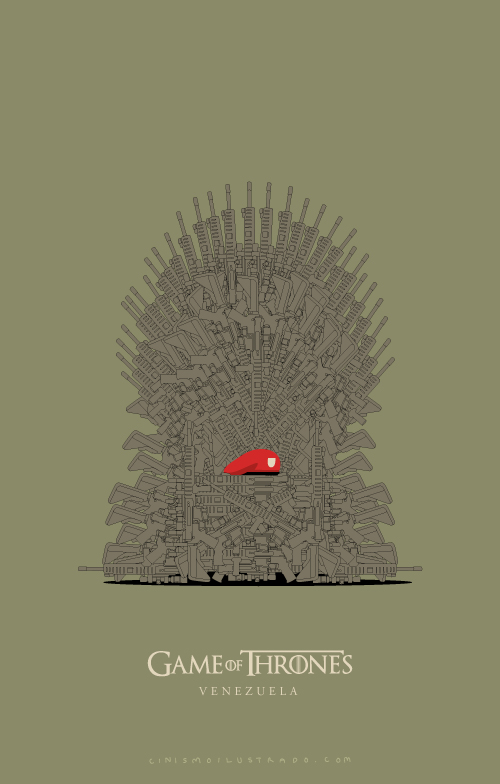 Game of Thrones Venezuela.