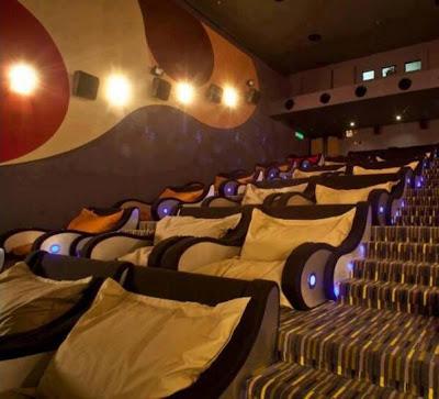 Buena sala de cine.