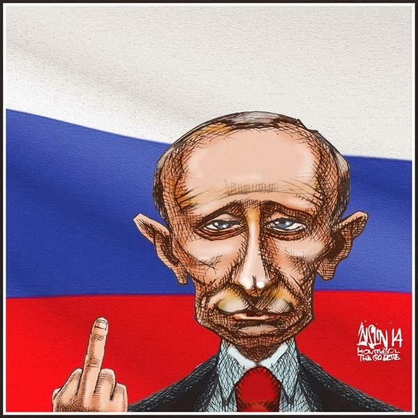 Putin quédate frío ya…mejor le haces a la paz y no te pones tan bélico..
