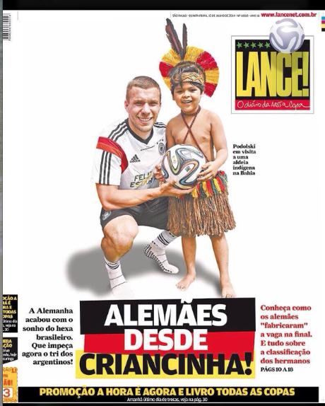 Solo un ejemplo de un diario de Brasil