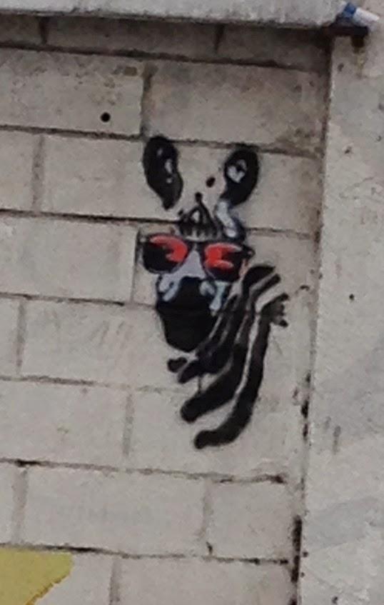 ¿Donde esta la cebra con gafas?