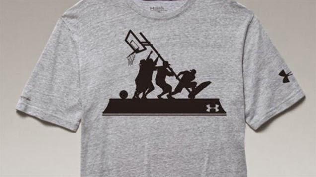 Under Armour tuvo que retirar esta camisa…