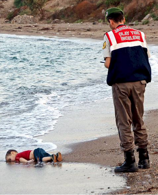 Podría esta foto cambiar el curso del trato al éxodo sirio?