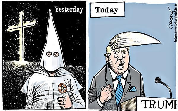 Trump visto por Chappatte