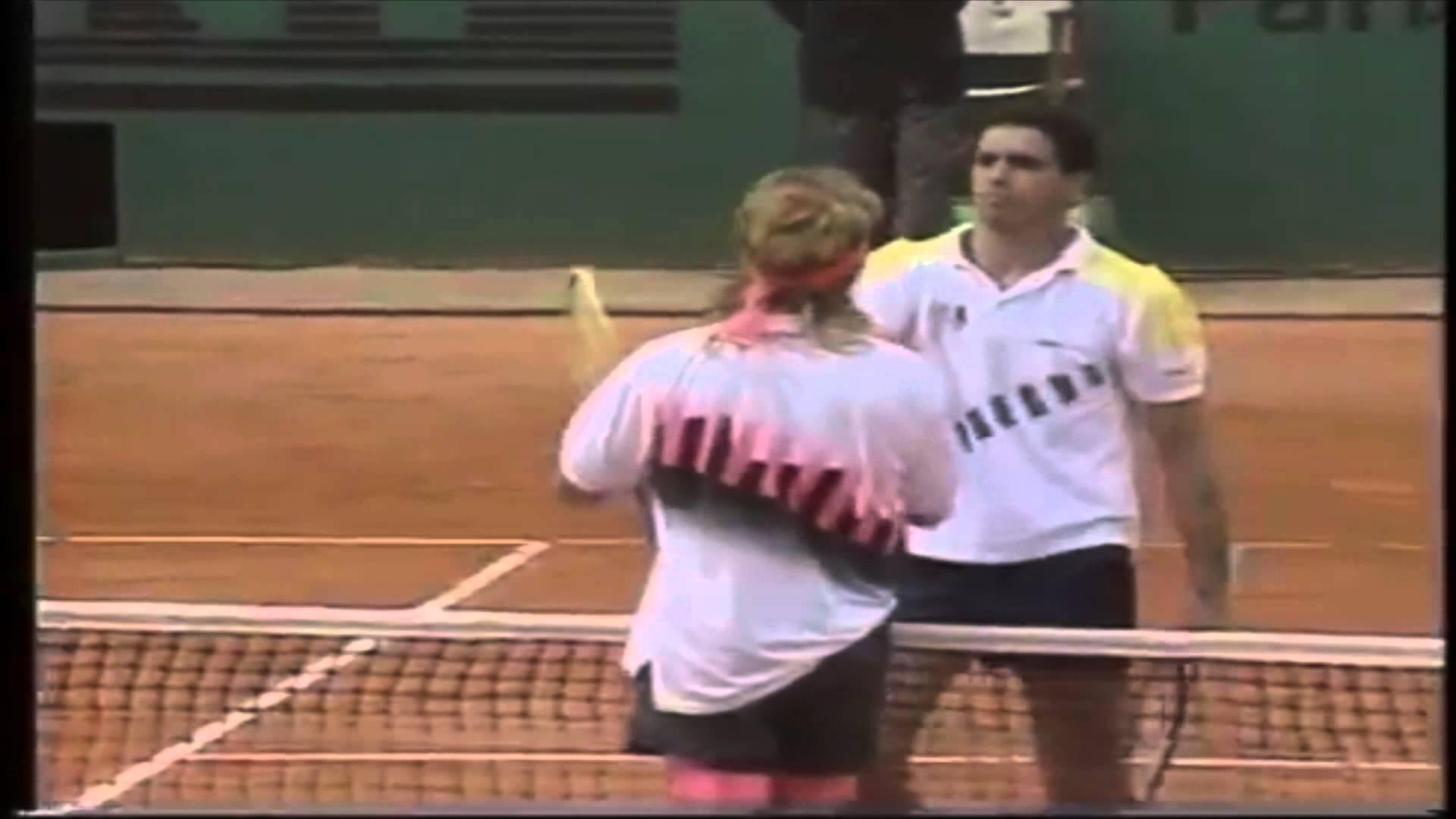 GTC le rinde homenaje a Andres Gomez por 25 años de Roland Garros