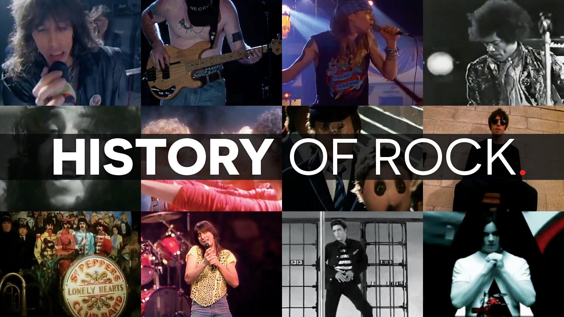 Historia del Rock en 15 minutos