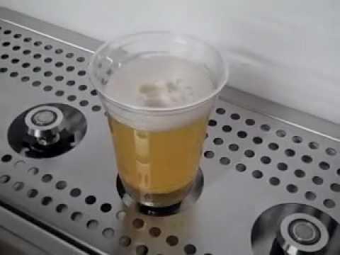 La cerveza desde abajo.