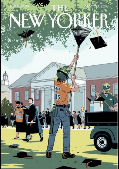 Portada del New Yorker bien clara