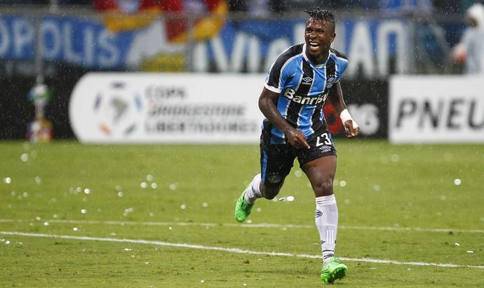 Ecuatorianos que jugando copa libertadores, anotaron por clubes extranjeros