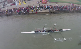 La regata Guayaquil-Posorja