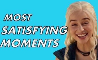 Algunos de los momentos mas satisfactorios de Games of Thrones