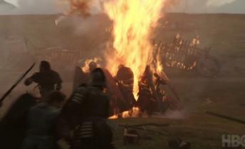 El ataque de Khalessi al ejercito de Jamie…como se grabó