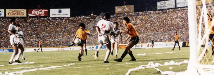 Hace 28 años un equipo ecuatoriano llegaba por primera vez a la final de la libertadores