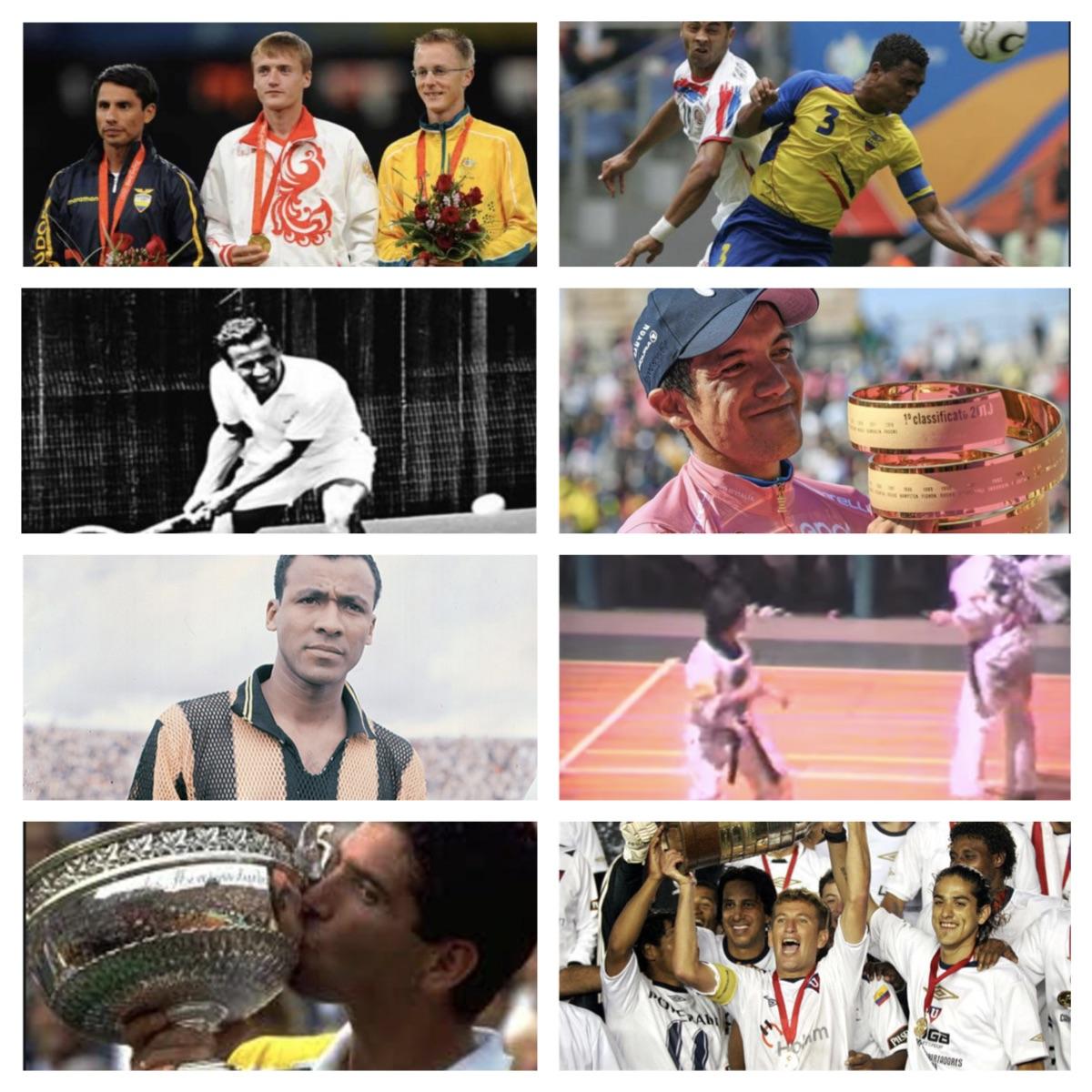 Los 10 logros más importantes de la historia deportiva del Ecuador.
