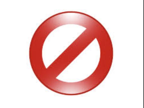 Todo es prohibido