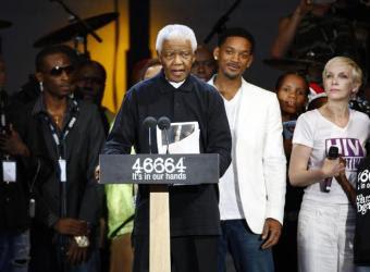 Multitudinario concierto para celebrar el 90 cumpleaños de Mandela