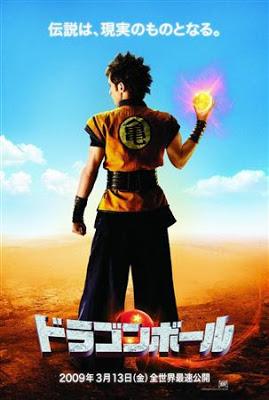Nuevo poster de la película (con actores reales) de Dragonball