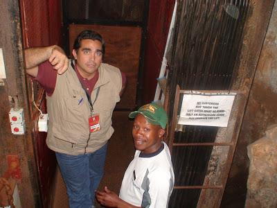 Viaje al Centro de la Tierra…Origen Sudafrica.