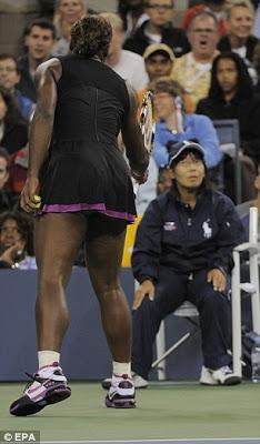 Que le dijo Serena a la China?