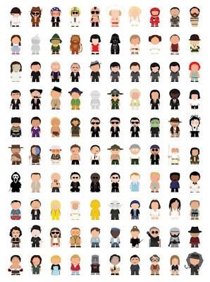 A cuantos de estos iconos del cine reconocen?