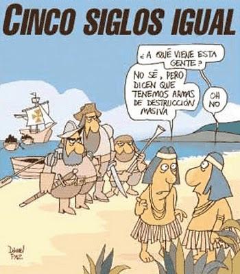 Nos colonizaron o nos saqueron?