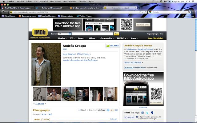 Crespo en el imdb.com