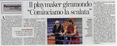 Raul Cardenas sigue por Italia.