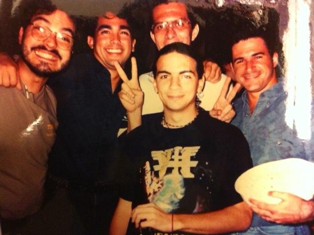 Gente de TV en 1994.