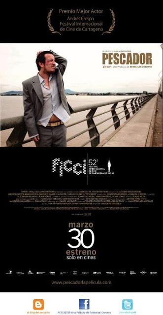 Andres Crespo gana galardón de mejor actor en festival de cine de Cartagena.