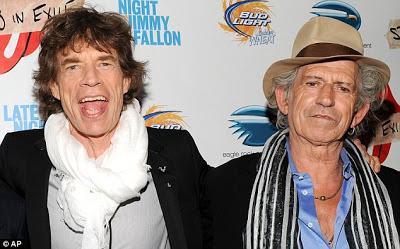 Keith y Mick panas desde los 7 años.