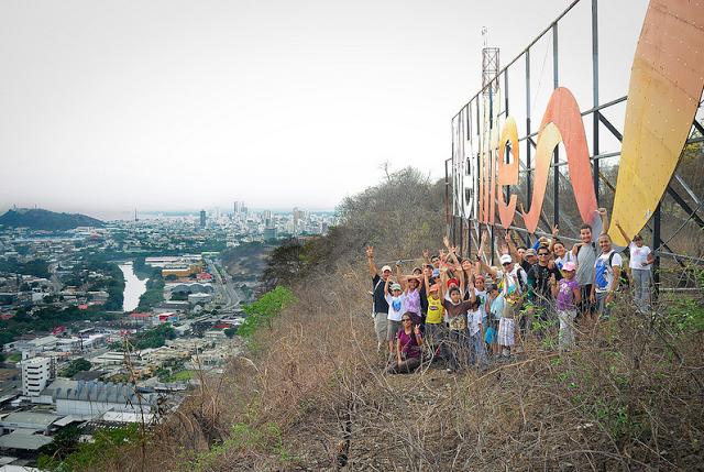 Guayaquileños…si ubican donde estan estos senderistas?