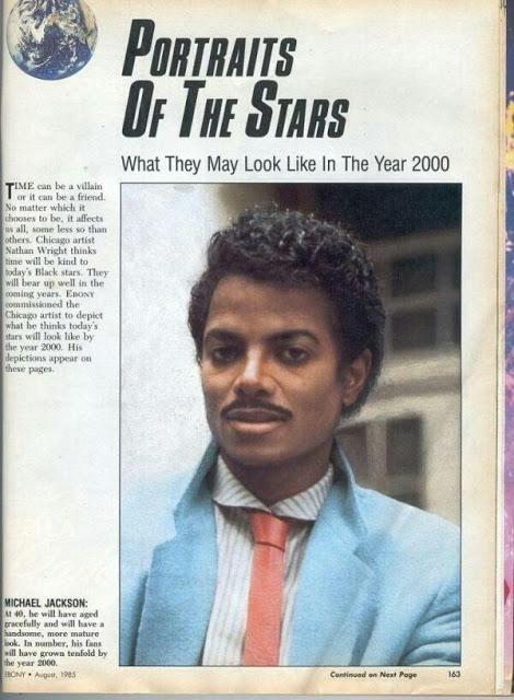 Time dijo que Michael Jackson se veria asi en el año 2000.